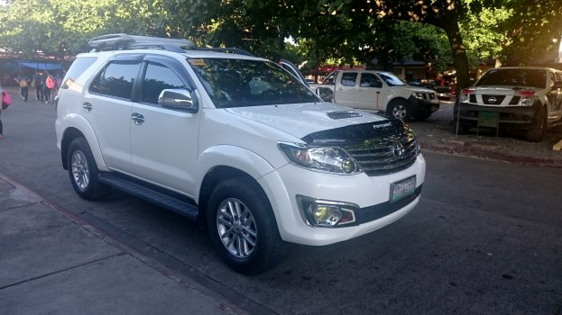 This Toyota Fortuner issued to Board Member Efren Quiben was installed with P102,000-worth of car accessories. Photo by Melvin Gascon